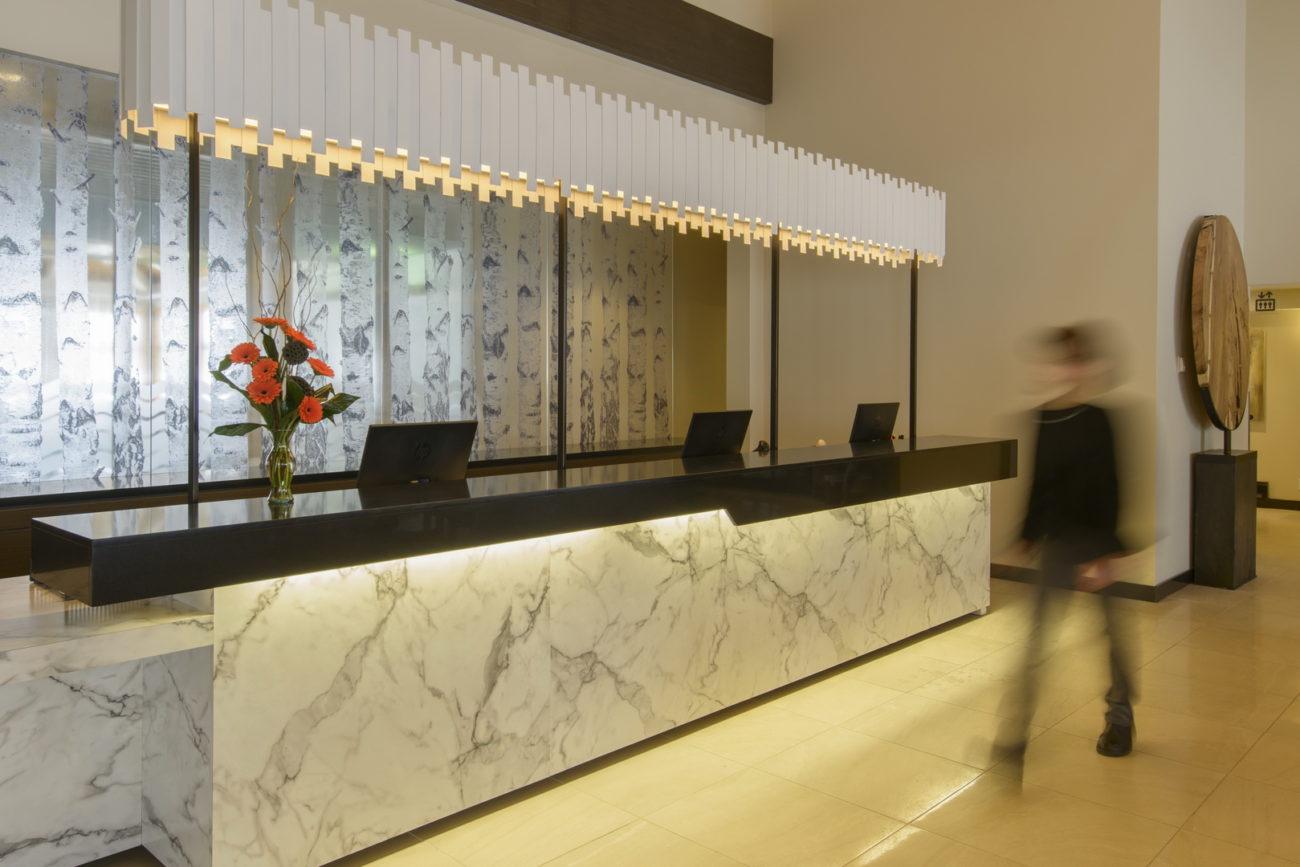Clean Hotel Lobby Miramichi New Brunswick